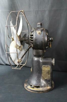Rare Ge General Electric Pre Pay Fan Motor Coin Operated Brass Electric Hotel