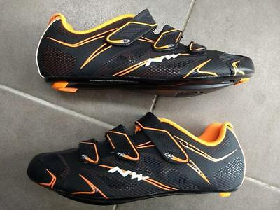 Cycling Shoes Road Northwave Sonic S3 Size 43 Black Orange