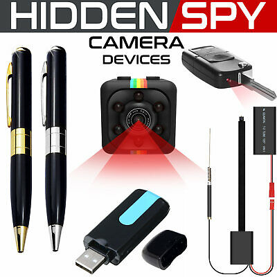 Wireless IP Hidden Camera USB Spy Pen HD Home Surveillance CAM TF MIC Camcorder