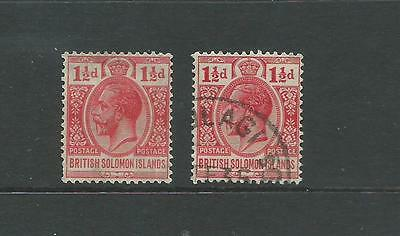 1913 1 1/2d Red MLH & Fine Used