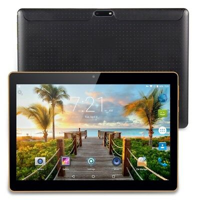 10.1'' Android 4GB+32GB Tablet PC 8 Core MIC HD WIFI dual SIM 3G Phablet NEW
