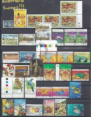 Selection of Used from Columbia-Christmas Island-Chile-Republique of Tchad