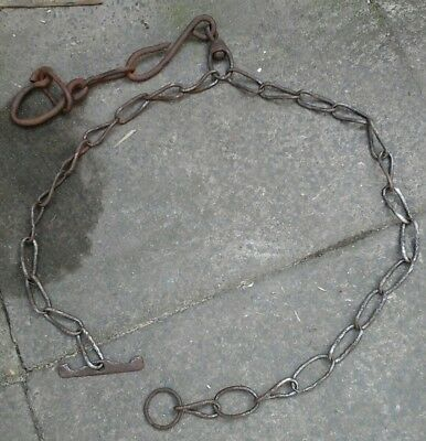 Vintage Cow Chain, Barn Find,ideal For  Gate Fastener Etc,#2 As Pictured