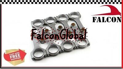 """PEP Falcon H-Beam Forged 4340 Connecting Rods Ford 460ci 6.605"""" float (8)"""