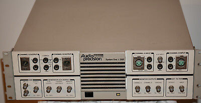 Audio Precision System One+DSP. A Version.