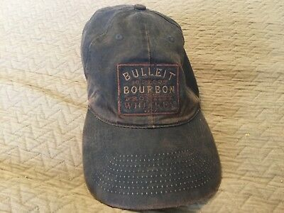 Bulleit Frontier Whiskey Bourbon Brown Rugged Adjustable Ball Cap - Free Ship