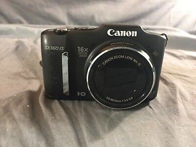 Canon PowerShot SX160 IS Digital Camera 16X Optical Zoom 16MP