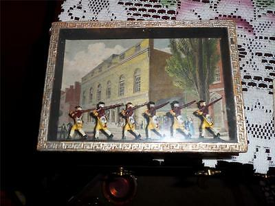 British Soldiers Collectors Vntg. Box Rare Great Britian