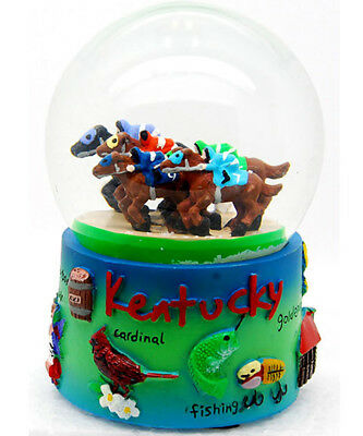 Kentucky Snowdome Snow Globe-New