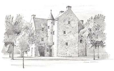Scotland - Mary Queen of Scots House, Jedburgh