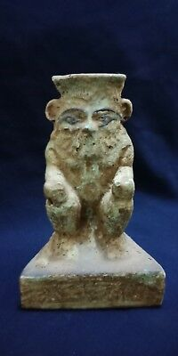 God Bes Egyptian statue  Ancient Bc