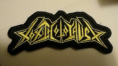 TOXIC HOLOCAUST Patch Embroidered Iron/Sew on THRASH METAL Fast Delivery
