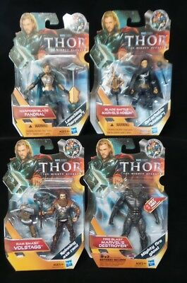 Marvel Studios AVENGERS THOR The Mighty Avenger Fandral Hogun Volstagg Destroyer