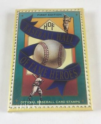 1992 Baseball Hall of Fame Heroes 1st Edition Stamp Card Set (12 Cards) (LB3STK)