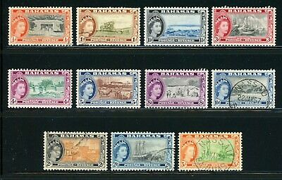 Bahamas Selections: Scott #158//171 QEII Large Assortment SEE SCAN $$$
