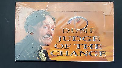 """ DUNE  "" JUDGE OF THE CHANGE  2 SEALED BOOSTER BOX 48 x 15 card boosters MINT"