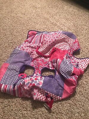 Pink & Purple Infantino shopping cart cover NWOT