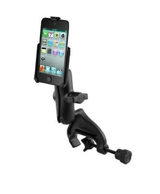 Heavy Duty Yoke Clamp Rail Mount Holder for Apple iPod touch 4th Generation