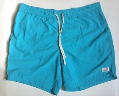 47b43fa730 MODERN AMUSEMENT PAC Sun - Men's Swim Trunks XL New (NWOT) Blue/Aqua ...