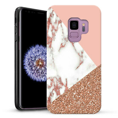 Marble Shape Stone Dual Layer heavy duty Case Cover For Samsung Galaxy A8 2018