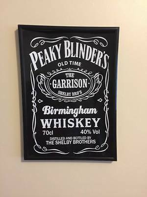 Peaky Blinders  A4 260 gsm Framed Poster Print