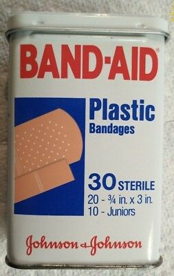 Band Aid Tin, 1983 Vintage Collectible