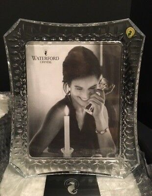 Waterford Crystal LISMORE Picture Photo FRAME 8 x 10 128019W- NEW - 1 available
