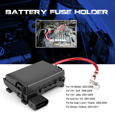 1j0937550a fuse box battery terminal for 1998-2005 jetta mk4 beetle high  quality