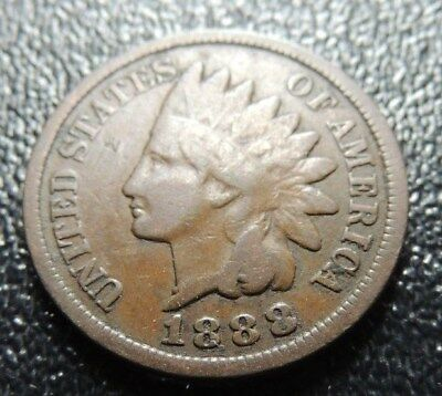 1888      Indian Cent       Very  Good       Condition