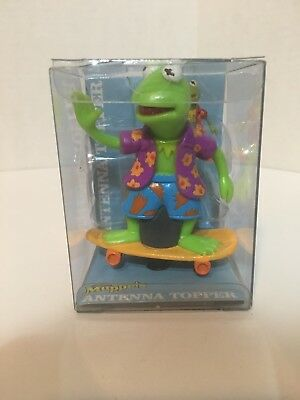 Kermit The Frog Antenna Topper Muppets Jim Henson Skater