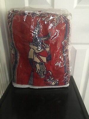 Bugs Bunny Baseball Blanket Vintage, Never used, in original package.