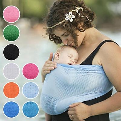Walkabout Carrier Ring Sling Baby Child Water Mesh Quick Dry Beach Pool White