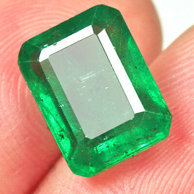 3.5CT Grade Green Emerald 100% Natural Collection Retail Price $1000 UQMD118