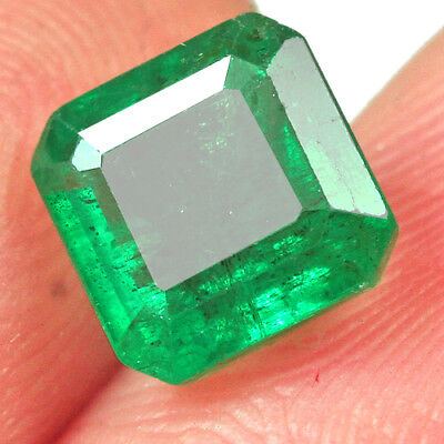1.4CT Grade Green Emerald 100% Natural Collection Retail Price $1000 UQMD120