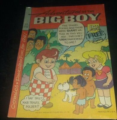 *Rare Hard to Find* ADVENTURES OF THE BIG BOY #212