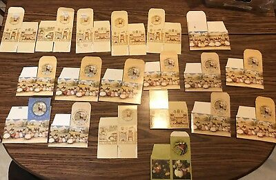 Lot of (19) Wee Forest Folk Empty Boxes WFF - Excellent Condition!