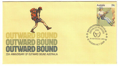 "1981 PictPMK. International Year Disabled Persons PMK ""WODEN"" Outward Bound PSE"