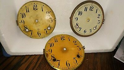 antique clock parts gilbert chapter rings