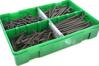 335 (1.2kg) ASSORTED NAILS SHERARDISED ANNULAR RING SHANK SOFT HARD WOOD KIT