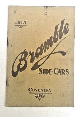 Veteran 1915 BRAMBLE SIDECARS - Coventry - Models of Coach Built Sidecars