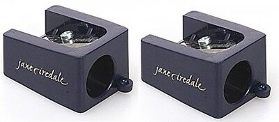 Lot of 2 Jane Iredale Jumbo Pencil Sharpeners Black NEW - Free Shipping