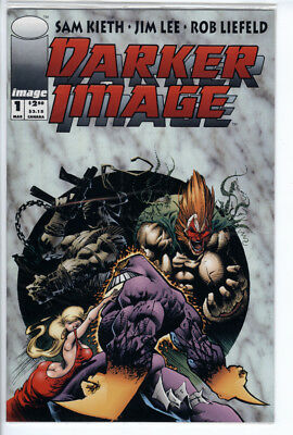 "Darker Image # 1 ""Unbagged Copy"" - Image Comics 1993 