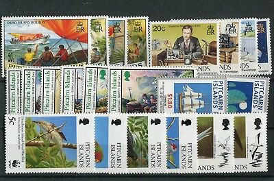 Pitcairn Islands QEII 1995-96 various Commemorative issues MNH