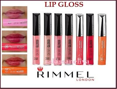 RIMMEL STAY GLOSSY OH! MY GLOSS LIP GLOSS CHOOSE COLOR Shiny Effect 6.5ml