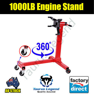 1000lb 455kg Heavy Duty Steel Construction Car Truck Van Engine Stand Support