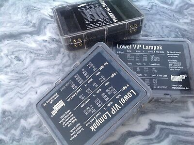 Lowel Pro Light Vip Lamp Pack Case for Bulbs ViP NEW