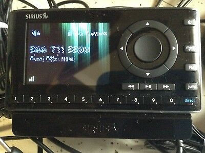STARMATE 8 ST8 RADIO REPLACEMENT RECEIVER ONLY SIRIUS  xm SIRIUSXM Bad display