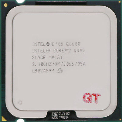 INTEL Core 2 Quad Q6600 SLACR Kentsfield Socket LGA 775 CPU Processor