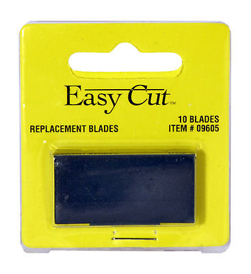 Easy Cut Safety Box Cutter Knife REPLACEMENT BLADES 10 EA/PK BEST EBAY PRICE
