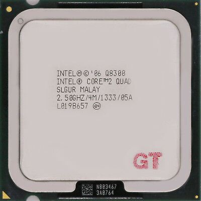 INTEL Core 2 Quad Q8300 SLGUR Yorkfield Socket LGA 775 CPU Processor